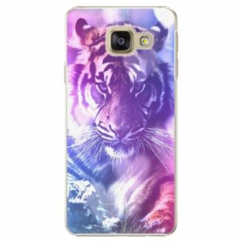 Plastové pouzdro iSaprio - Purple Tiger - Samsung Galaxy A3 2016
