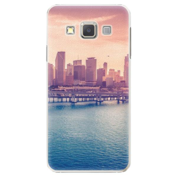 Plastové pouzdro iSaprio - Morning in a City - Samsung Galaxy A7