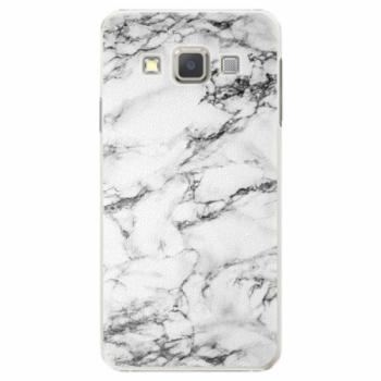 Plastové pouzdro iSaprio - White Marble 01 - Samsung Galaxy A7