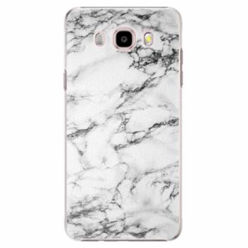 Plastové pouzdro iSaprio - White Marble 01 - Samsung Galaxy J5 2016