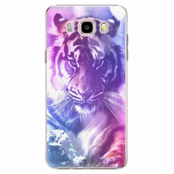 Plastové pouzdro iSaprio - Purple Tiger - Samsung Galaxy J5 2016
