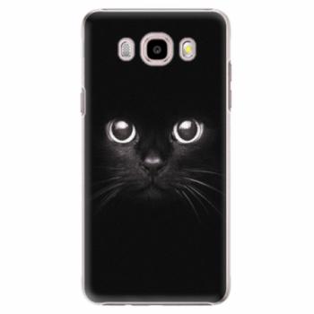 Plastové pouzdro iSaprio - Black Cat - Samsung Galaxy J5 2016
