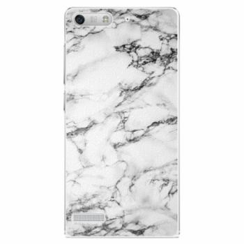 Plastové pouzdro iSaprio - White Marble 01 - Huawei Ascend G6