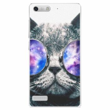 Plastové pouzdro iSaprio - Galaxy Cat - Huawei Ascend G6
