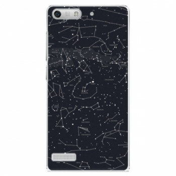 Plastové pouzdro iSaprio - Night Sky 01 - Huawei Ascend G6