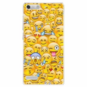 Plastové pouzdro iSaprio - Emoji - Huawei Ascend G6