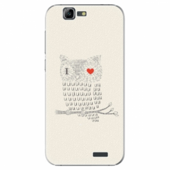Plastové pouzdro iSaprio - I Love You 01 - Huawei Ascend G7