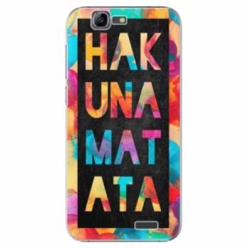 Plastové pouzdro iSaprio - Hakuna Matata 01 - Huawei Ascend G7
