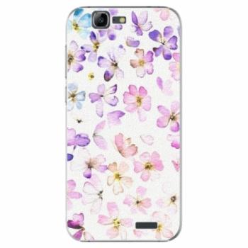 Plastové pouzdro iSaprio - Wildflowers - Huawei Ascend G7