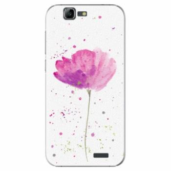Plastové pouzdro iSaprio - Poppies - Huawei Ascend G7