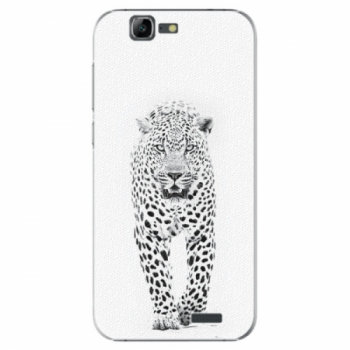 Plastové pouzdro iSaprio - White Jaguar - Huawei Ascend G7