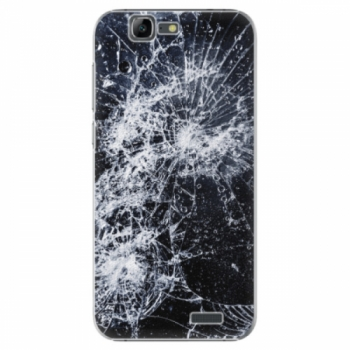 Plastové pouzdro iSaprio - Cracked - Huawei Ascend G7
