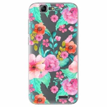 Plastové pouzdro iSaprio - Flower Pattern 01 - Huawei Ascend G7