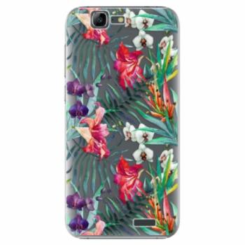 Plastové pouzdro iSaprio - Flower Pattern 03 - Huawei Ascend G7