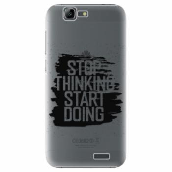 Plastové pouzdro iSaprio - Start Doing - black - Huawei Ascend G7