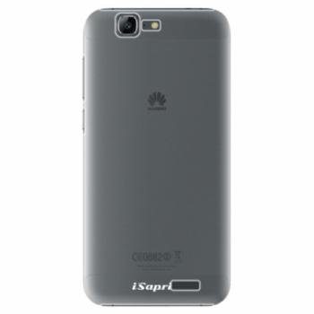 Plastové pouzdro iSaprio - 4Pure - mléčný bez potisku - Huawei Ascend G7