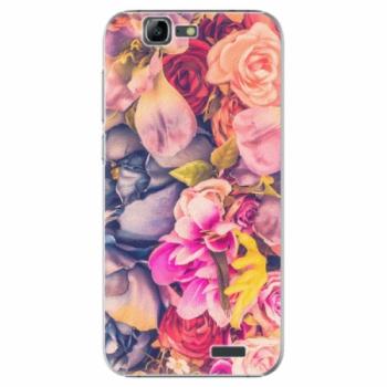 Plastové pouzdro iSaprio - Beauty Flowers - Huawei Ascend G7