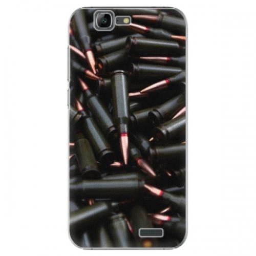 Plastové pouzdro iSaprio - Black Bullet - Huawei Ascend G7