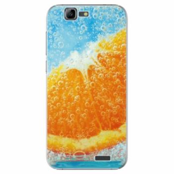 Plastové pouzdro iSaprio - Orange Water - Huawei Ascend G7