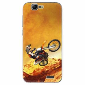 Plastové pouzdro iSaprio - Motocross - Huawei Ascend G7