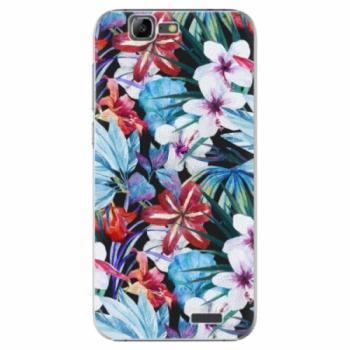 Plastové pouzdro iSaprio - Tropical Flowers 05 - Huawei Ascend G7