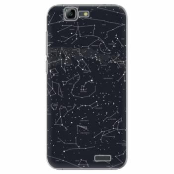 Plastové pouzdro iSaprio - Night Sky 01 - Huawei Ascend G7