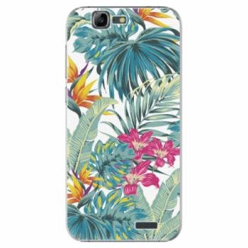 Plastové pouzdro iSaprio - Tropical White 03 - Huawei Ascend G7