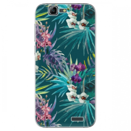 Plastové pouzdro iSaprio - Tropical Blue 01 - Huawei Ascend G7