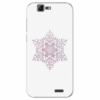 Plastové pouzdro iSaprio - Snow Flake - Huawei Ascend G7