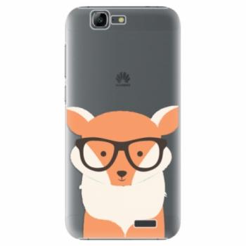 Plastové pouzdro iSaprio - Orange Fox - Huawei Ascend G7