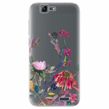 Plastové pouzdro iSaprio - Herbs 02 - Huawei Ascend G7