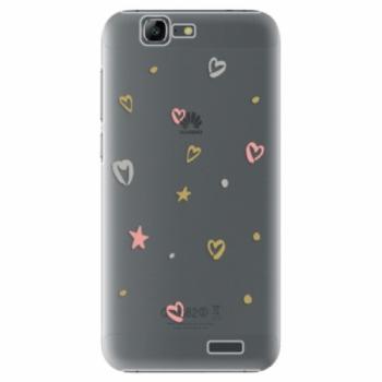 Plastové pouzdro iSaprio - Lovely Pattern - Huawei Ascend G7