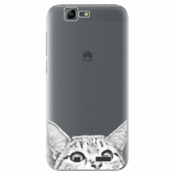 Plastové pouzdro iSaprio - Cat 02 - Huawei Ascend G7
