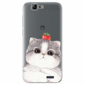 Plastové pouzdro iSaprio - Cat 03 - Huawei Ascend G7