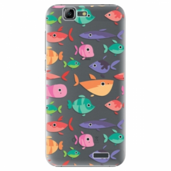 Plastové pouzdro iSaprio - Fish pattern 01 - Huawei Ascend G7