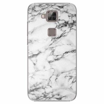 Plastové pouzdro iSaprio - White Marble 01 - Huawei Ascend G8