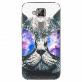 Plastové pouzdro iSaprio - Galaxy Cat - Huawei Ascend G8