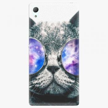 Plastový kryt iSaprio - Galaxy Cat - Sony Xperia Z3+ / Z4