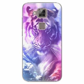 Plastové pouzdro iSaprio - Purple Tiger - Huawei Ascend G8