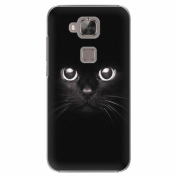 Plastové pouzdro iSaprio - Black Cat - Huawei Ascend G8