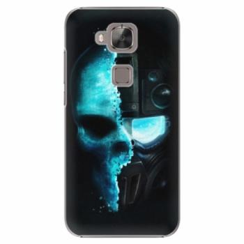 Plastové pouzdro iSaprio - Roboskull - Huawei Ascend G8