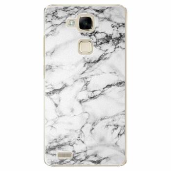 Plastové pouzdro iSaprio - White Marble 01 - Huawei Mate7