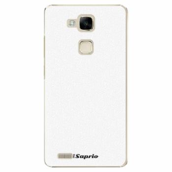 Plastové pouzdro iSaprio - 4Pure - bílý - Huawei Mate7