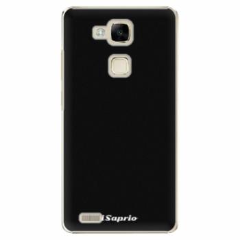 Plastové pouzdro iSaprio - 4Pure - černý - Huawei Mate7