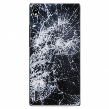 Plastové pouzdro iSaprio - Cracked - Huawei Ascend P7