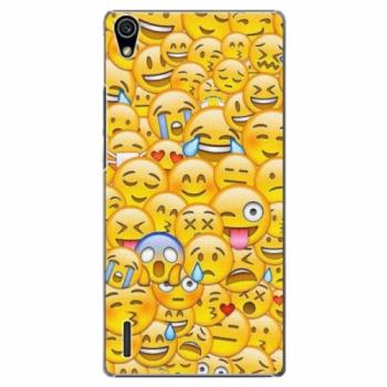 Plastové pouzdro iSaprio - Emoji - Huawei Ascend P7