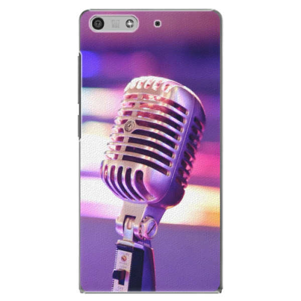 Plastové pouzdro iSaprio - Vintage Microphone - Huawei Ascend P7 Mini
