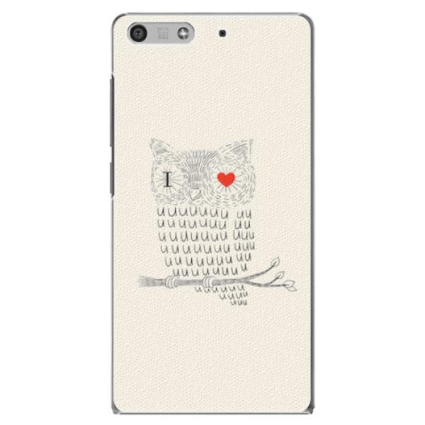 Plastové pouzdro iSaprio - I Love You 01 - Huawei Ascend P7 Mini