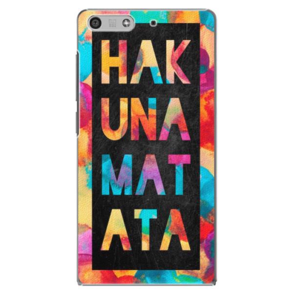 Plastové pouzdro iSaprio - Hakuna Matata 01 - Huawei Ascend P7 Mini