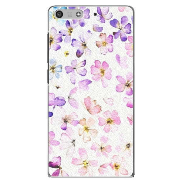 Plastové pouzdro iSaprio - Wildflowers - Huawei Ascend P7 Mini